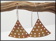 BOCA  Handforged Copper and Sterling by sandrawebsterjewelry, $30.00