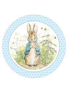 Image result for peter rabbit cake topper free printable