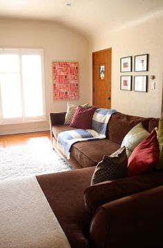 Living Room Refresh: Semi-DIY Colorful Canvas Art