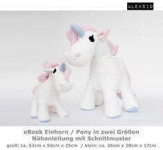 Aleksio eBook Einhorn (Pony) - in zwei Größen von Aleksio auf DaWanda.com