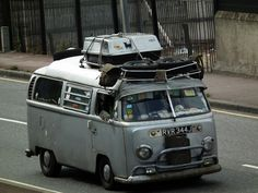 VW Hippy Bus by kenjonbro, via Flickr
