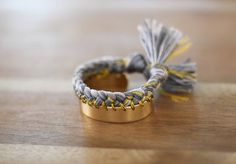 Metallic Shimmer DIY Braided Bracelet