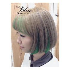 WEBSTA @ mayo83blue - Green🌴🌴🌴*心斎橋•なんばBlue-hair LAU-🏄🌴🏝Tel…