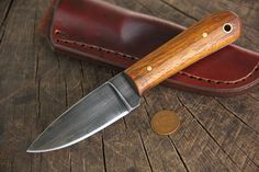 Osage Lucas Forge Small Frontier Knife
