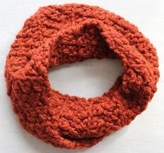 Saffron Spice Mobius Scarf by jubilee127 on Etsy, $18.00