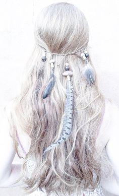 ༺♥༻ Boho Hair ≫∙∙☮ Bohème Babe ☮∙∙≪• ❤️ Babz™ ✿ιиѕριяαтισи❀ #abbigliamento #bohojewelry #boho