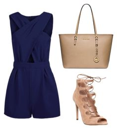 """""""Untitled #333"""" by joanacrs ❤ liked on Polyvore featuring Office and Michael Kors"""