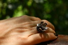 Joias de Minhocas prata e cobre - Bruna Fois • Joalheria Autoral