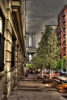 Manhattan street view