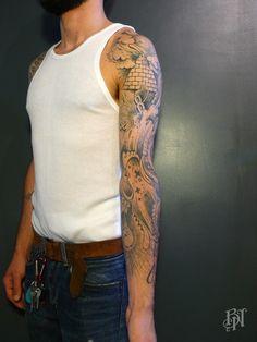 DARIL | Bleu Noir tattoo