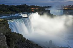 Niagara Falls, one of our most memorable vacations when the kids were young