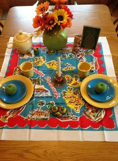 276 best Fiestaware Tablescapes and Displays images on Pinterest ...