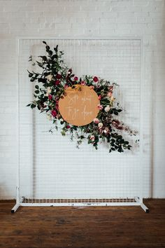 Luxe Bridal Shower Inspiration | HOORAY! Mag | Ceremony Backdrop | Floral Backdrop Inspiration | Floral Installation |