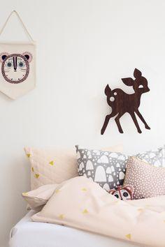 Ferm Living My Deer Wandleuchte LED Eiche Kinderzimmer Einrichtung Lampen http://www.flinders.de/ferm-living-design