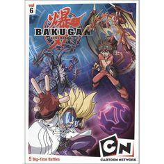 Bakugan, Vol. 6: Time for Battle (dvd_video)
