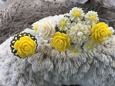 JEWELRY: Flower Filigree Head Band Set / Bridesmaid Hairbands