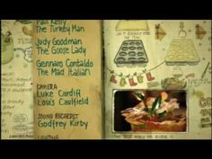 Credits for the Christmas Special of 'Jamie at Home' on Channel Graphics by HelloCharlie Food Journal, Journal Pages, Recipe Scrapbook, Jamie Oliver, Food Illustrations, Winter Time, Moleskine, Art Journals, Notebooks