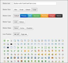 custom-twitter-bootstrap-button-generator  #bootstrap #examples Types Of Buttons, Large Buttons, Coding, Positivity, Let It Be, Learning, Twitter, Studying