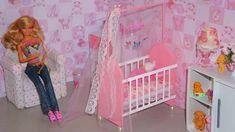 Como fazer um berço (parte 1) para boneca Monster High, Barbie, etc