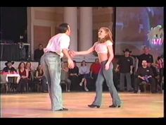 country swing, with Salsa moves.   So fun.  Jason Colacino and Katie Boyle - Honky Tonk