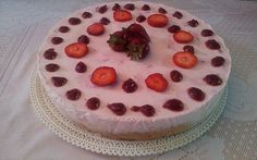 Torta de yogur para diabéticos