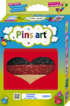 Kit Pins Art Alemania / Germany - DIY - Hand Made with Love
