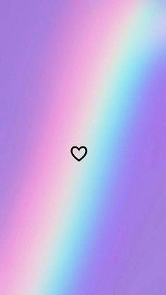 Phone Backgrounds 121737996165598092 - Rainbow Heart wallpaper Heart and rainbow - # Heart # Iris . rainbow wallpaper - source by angelpopham Tumblr Wallpaper, Cute Emoji Wallpaper, Cartoon Wallpaper Iphone, Rainbow Wallpaper, Heart Wallpaper, Iphone Background Wallpaper, Cute Disney Wallpaper, Screen Wallpaper, Iphone Backgrounds