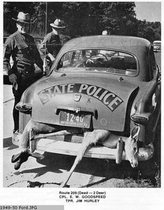 New York State Troopers History Emergency Vehicles, Police Vehicles, Old Police Cars, Cool Vans, State Police, Car Ford, Ford Motor Company, Troops, Soldiers