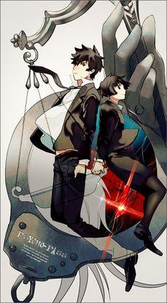 Psycho-Pass - Shinya Kogami and Akane Tsunemori Anime Nerd, All Anime, Me Me Me Anime, Anime Manga, Psycho Pass, Bleach Anime, Manga Pictures, Manga Comics, Worlds Of Fun