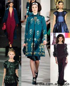 Colores de moda Otoño Invierno 2013   Argentina 2013