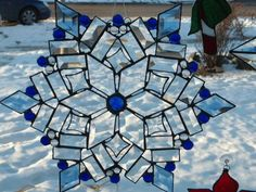 Snowflakes by Patricia, from Delphi's Online Artist Gallery