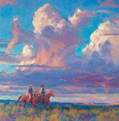 Sage Dancin'. Gold Medal winner. R.S. Riddick | The Cowboy Artists of America