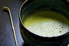 Matcha - process described here  http://www.teanerd.com/2007/07/matcha-madness-part-iii.html