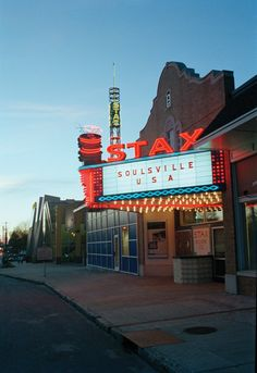 STAX Museum - a must see in Memphis if you like soul music of the '60's