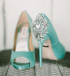 Beautiful sparkle tiffany blue heels 3 i wish i picked this color tiffany blue junglespirit Image collections