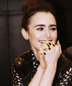 So I'm wonder which L'DUEXs Lily Collins purchased recently while shopping in West Hollywood?!?! lduex.com  Love your hair. Love your arm candy. #lduex #armcandy #hairtie