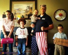 Napoleon Dynamite Family Costume - Halloween Costume Contest via @costumeworks