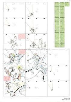 Attack on Titan Genga Animation