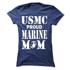MARINE MOM - #boyfriend gift #cool hoodie