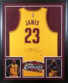 bd6d71169 LeBron James Framed Jersey Signed UDA COA Autographed Cleveland Cavaliers  Upper Deck at Amazon s Sports Collectibles Store