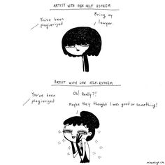 Mexican-Canadian Creates Emotional Cartoons To Handle  Her Thoughts