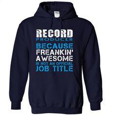 Record-Producer T Shirts, Hoodies, Sweatshirts - #retro t shirts #novelty t shirts. SIMILAR ITEMS => https://www.sunfrog.com/LifeStyle/Record-Producer-NavyBlue-Hoodie.html?id=60505