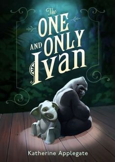 The One and Only Ivan is a very touching story of a Silverback gorilla, Ivan, and a small elephant caged side by side in a shopping mall zoo.  Talking animals, nice humans, and a happy ending make for a nice read.  Based on a true story. This is a funny, sad, and great read. For grades 4-8.