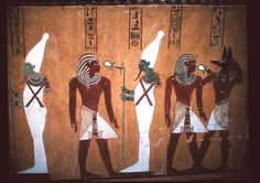Black Egyptians | compare their skin color to these egyptians see the similarity