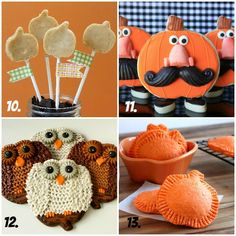 Pumpkin Project Collage 3 ~ 20+ Creative Ways to Use A Pumpkin g Cookie Cutter ~ sweetsugarbelle.com