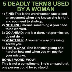 Funny thing is - these all sound very familiar somehow.  LOL!