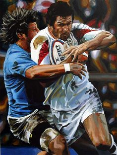Sports Painting, Rugby Sport, Rugby Players, Men, Fictional Characters, Gentleman, Tennis, Cartoons, Golf