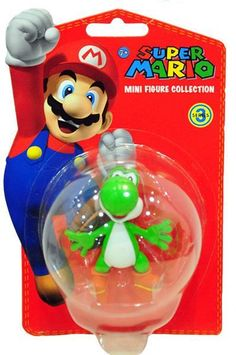 Yoshi - Super Mario Mini Figure Collection Series 3 (5cm)  Manufacturer: Together Enarxis Code: 011072 #toys #figures #Yoshi #Nintendo #videogames