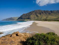 Kawakiu Beach, Molokai You could argue that the island of Molokai itself is hidden in plain sight—sandwiched between Hawaii's two most popular islands—and that all of its beaches are blissfully tranquil. Hawaii Honeymoon, Hawaii Vacation, Hawaii Travel, Makua Beach, Oahu Beaches, Kona Coast, Hidden Beach, Paradise On Earth, Big Island Hawaii