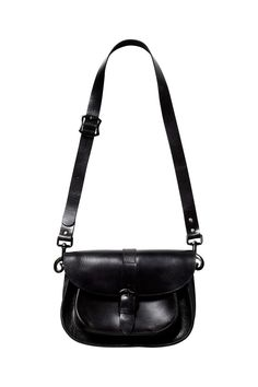 """Some things get better with a little age and love - your favourite Converse, those vintage jeans, and this sturdy leather satchel.  £155, [link url=""""http://www.asos.com""""][b]www.asos.com[/b][/link]"""